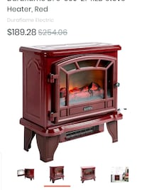 Duraflame NEW NOT OPENED electric stove& fireplace