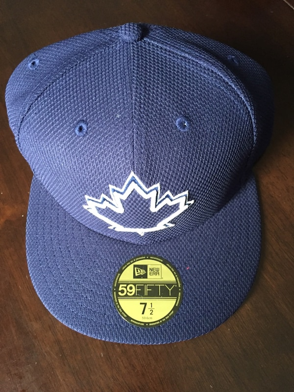 blue Totonto Maple Leafs fitted cap