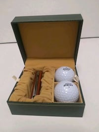 Golfer Gift Set Knife two balls in nice cade Whitchurch-Stouffville, L4A 0J5