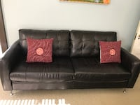 Leather couch Milwaukie