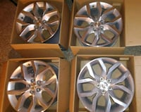 Aluminum chevy impala 19' multi-spok car wheel set San Angelo, 76904