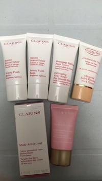 6 clarins products Burnaby, V5J 4J4