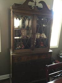 Duncan Phyfe antique China cabinet
