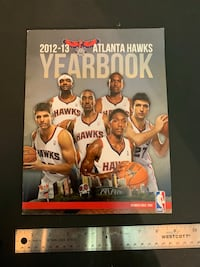 Atlanta hawks year book 12-13