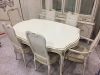French Provençal table with leaf and 6 chairs  Palm Coast, 32164