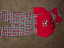 Adorable baby girl outfit size 3-6 mnths