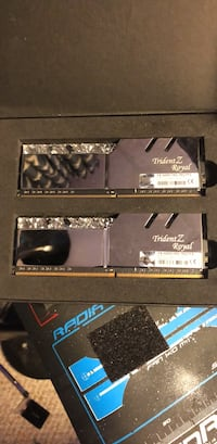 4 Trident z Royal rgb ram @ 3200mhz time is  [TL_HIDDEN]  Mountain Brook, 35213