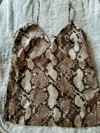 Snake print top Mississauga, L5R 0A9