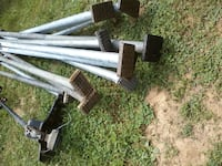 """Load bars 90-104"""" all good grippers $24 ea or $210 for all Falling Waters, 25419"""