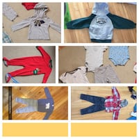 Boy clothing size 24 months