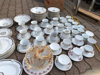 Moving sale! Less than $1 for one piece, dinner set and mixed cups, dishes and a lot more Hamilton, L9A 1T3