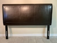 Queen size Leather Headboard
