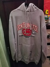 gray Ecko Unlimited pullover hoodie