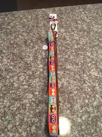 Brown and orange 5 ft. Leash for medium to Large dogs with cute designs Union City, 94587