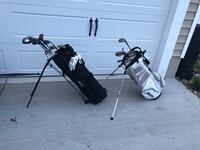 Assorted golf equipment