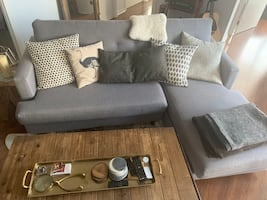 Gray Sofa Sectional