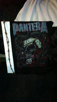 Pantera skeleton painting 2871 km