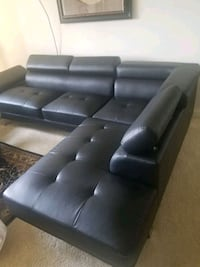 Black, sectional sofa, less than 6 mths old. Alexandria