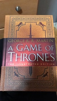 Game of thrones illustrated edition  Toronto, M3M 1A7