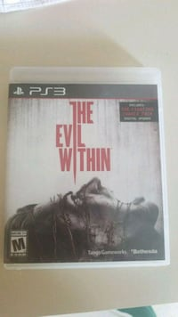 The Evil Within PS3 game Garland, 75044