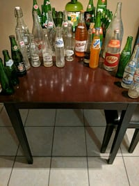 Collection of pop bottles
