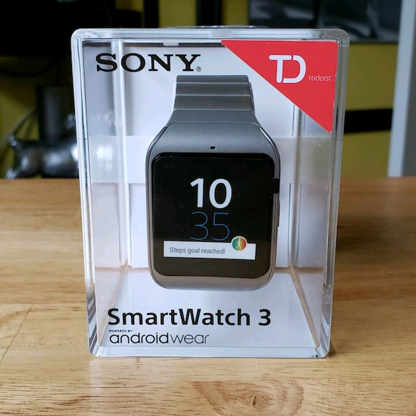 Sony SmartWatch 3 Android Wear new!