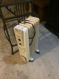 white and gray portable air cooler Surrey, V3S 2B4