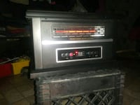 Space heater digital with remote