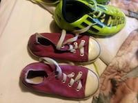 pair of pink-and-white sneakers Conway, 72032