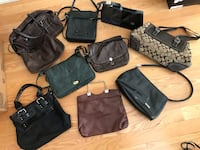 Various purses Mississauga, L5M 0H9