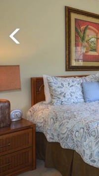 King headboard. Rattan. Hilton Head Island, 29926