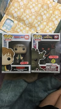 Tommy Boy and King Groot Target Exclusive FUNKO POPs