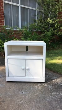 white wooden with cabinet nightstand Virginia Beach, 23464