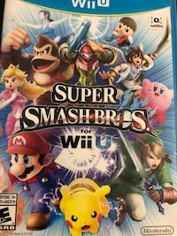 Super smash bros wii u Brampton