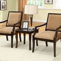 BOUDRY SET OF TABLE & ACCENT CHAIRS     |     CM-AC6990-3PK San Antonio