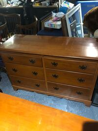 Large Hardwood Dresser Round Rock, 78665