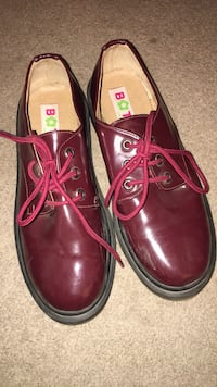 pair of red leather dress shoes Winnipeg, R3L 2P7