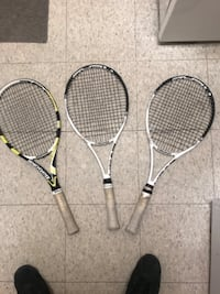 Good condition tennis rackets