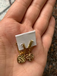 14k brand new beautiful gold  earrings Fairfax, 22030