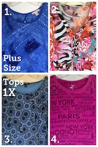 Plus-size Pretty Tops — 1X Santa Ana, 92704