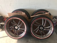 """22"""" Amani Forged 3piece offset Kissimmee, 34746"""
