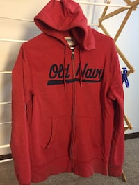 Red and black zip-up hoodie for boys Hopkins, 55343