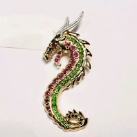Stamped 925 Sterling Silver Gold Plated Ruby, Sapp Toronto, M6H 3Y9