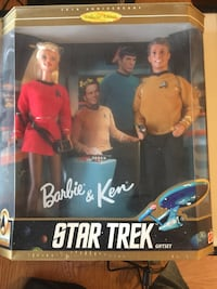 Barbie and Ken Star Trek Giftset Milton, L9T 3X4