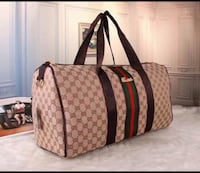 brown and gray Gucci duffel bag Hartford, 06112