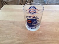 CHICAGO BEARS SCOTCH GLASS