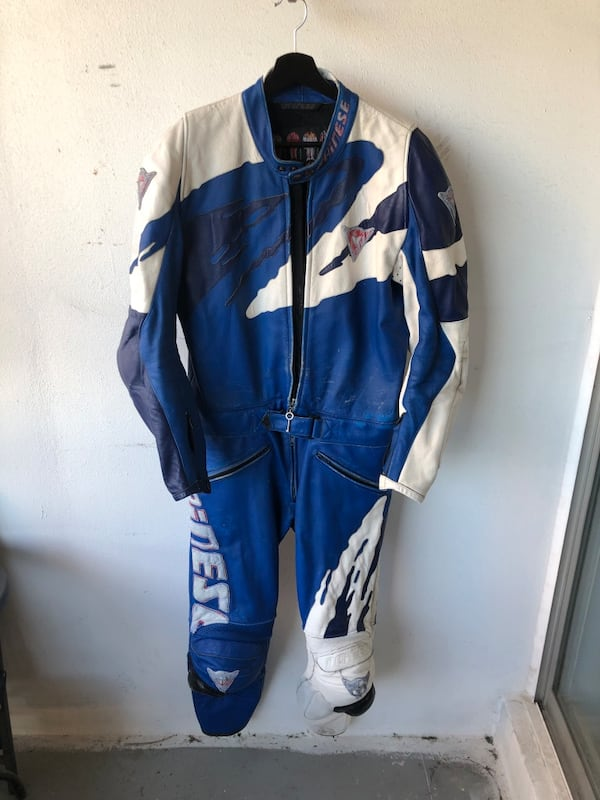 Genuine Dainese Racing Leathers One Piece Suit - EU 54 Italy 5349cdbf-4284-4c1e-9512-8164a9f0a6c4