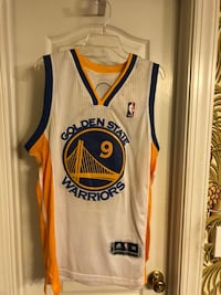 white and blue Golden State Warriors jersey Auburn, 36830