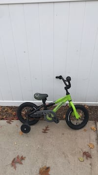 Green and black training bicycle Amityville, 11701