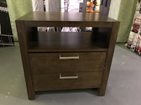 AS-IS AUSTIN NIGHTSTANDS FROM ALPINE FURNITURE IN CHESTNUT - FJN Cambridge, N1P 1E3
